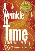 A Wrinkle in Time: 50th Anniversary Commemorative Edition (Madeleine L'Engle's Time Quintet) Cover