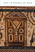 God in Search of Man: A Philosophy of Judaism Cover