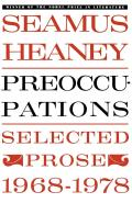Preoccupations Selected Prose 1968 1978