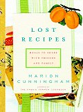 Lost Recipes Meals to Share with Friends & Family
