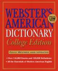 Webster's American Dictionary: College Edition, 2nd Edition