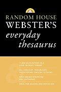 Random House Websters Everyday Thesaurus
