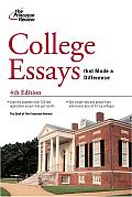College Essays That Made a Difference, 4th Edition Cover