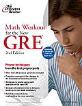 Math Workout for the GRE, 2nd Edition: Revised and Updated for the New GRE Cover