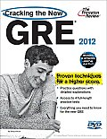 Princeton Review: Cracking the GRE #12: Cracking the New GRE with DVD, 2012 Edition Cover
