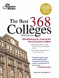 Princeton Review: The Best ... Colleges #368: Best 368 Colleges Cover