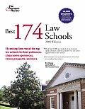 Princeton Review: Best Law Schools #174: Best 174 Law Schools, 2009 Edition