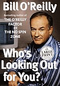 Who's Looking Out for You? (Large Print) (Random House Large Print Nonfiction) Cover