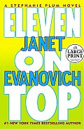 Eleven on Top (Large Print) (Stephanie Plum Novels) Cover