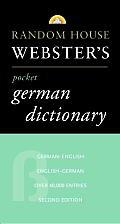 Random House Webster's Pocket German Dictionary: Second Edition
