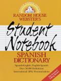 Rh Websters Student Notebook Spanish Dic