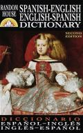 Random House Spanish English Dictionary 2nd Edition