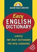 Random House Websters Easy English Dictionary