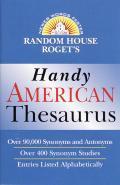 Random House Rogets Handy American Thesa