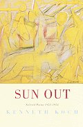Sun Out: Selected Poems 1952-1954 Cover