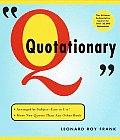 Random House Websters Quotationary