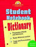 Websters Student Notebook Dictionary