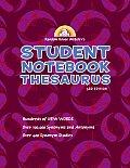 Random House Webster's Student Notebook Thesaurus (Third Edition)