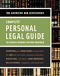 Complete Personal Legal Guide The Essential Reference for Every Household