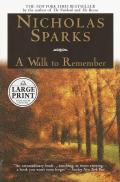 A Walk to Remember (Large Print)