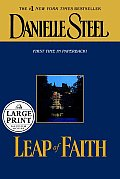 Leap of Faith (Large Print) Cover