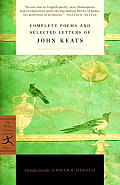 Complete Poems and Selected Letters of John Keats (Modern Library Classics) Cover