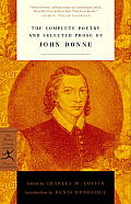 Complete Poetry & Selected Prose of John Donne