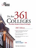 Princeton Review: The Best ... Colleges #361: The Best 361 Colleges Cover
