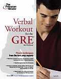 Verbal Workout For The New Gre 3rd Edition