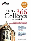 Princeton Review: The Best ... Colleges #366: The Best 366 Colleges Cover