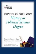 What to Do with Your History or Political Science Degree