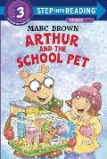 Arthur and the School Pet (Step Into Reading Sticker Books)