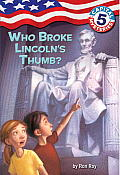 Capital Mysteries #05: Who Broke Lincoln's Thumb? Cover