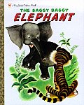 The Saggy Baggy Elephant (Big Little Golden Books) Cover