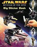 Star Wars Episode III Big Sticker Book