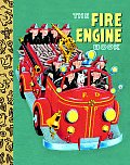 The Fire Engine Book (Little Golden Treasure)