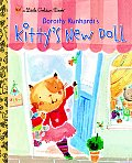 Kitty's New Doll (Little Golden Books) Cover