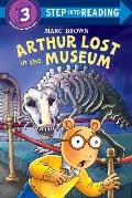 Arthur Lost in the Museum with Sticker (Step Into Reading: A Step 3 Book)