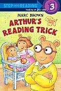 Arthur's Reading Trick [With Sticker(s)]