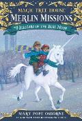 "Magic Tree House (Paperback)                                                                        "" #36: Blizzard of the Blue Moon with Sticker Cover"