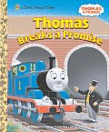 Thomas Breaks a Promise (Thomas &amp; Friends) Cover