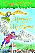 Magic Tree House #38: Monday with a Mad Genius Cover