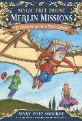 Magic Tree House #38: Monday with a Mad Genius: Merlin Mission Cover