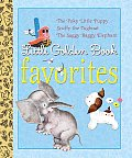 Little Golden Book Favorites: The Poky Little Puppy/Scuffy the Tugboat/The Saggy Baggy Elephant (Little Golden Books)