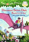 Dinosaurs Before Dark Book & CD Set (Stepping Stone Book) Cover