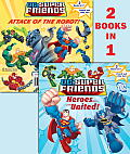 DC Super Friends Heroes United Attack of the Robot With Punch Out Play Set