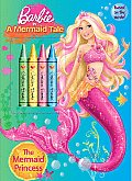 The Mermaid Princess [With 4 Crayons] (Barbie in a Mermaid Tale)