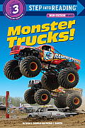 Monster Trucks! (Step Into Reading - Level 3 - Quality) Cover