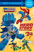 Hero Story Collection (DC Super Friends) (Step Into Reading) Cover