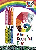 A Very Colorful Day [With 6 Crayons]